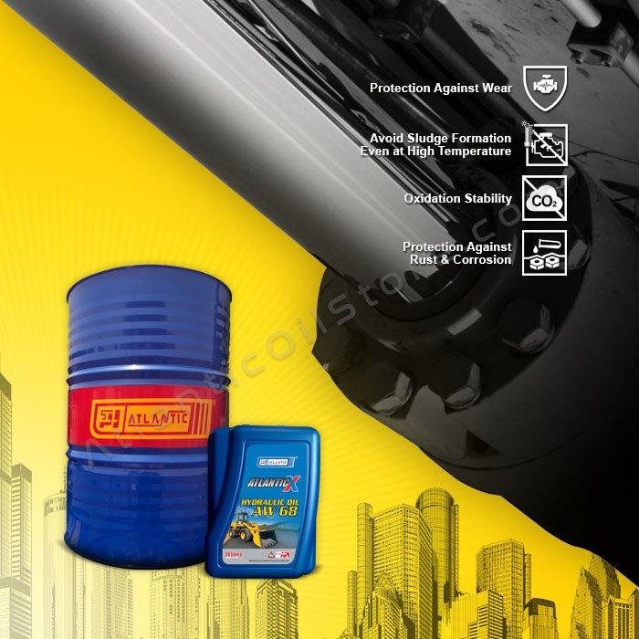 Atlantic X Hydraulic Oil AW 68 20 Litres