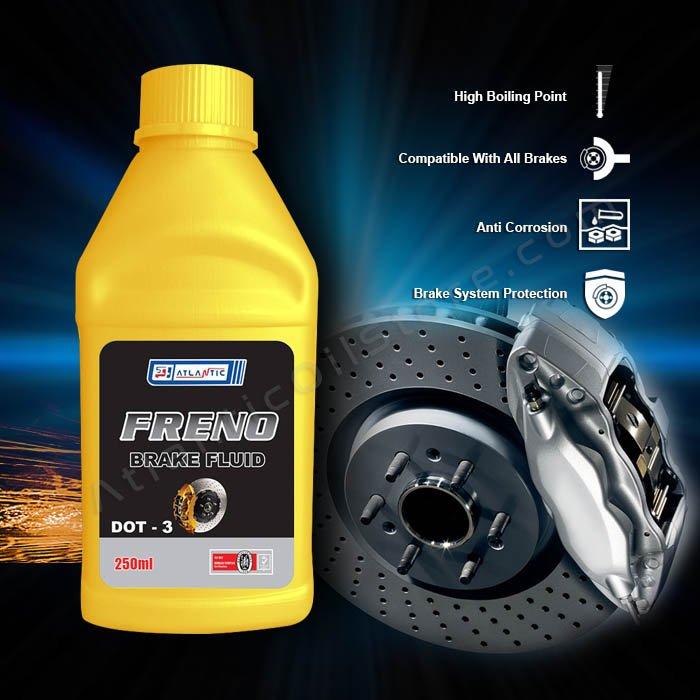 Freno Brake Fluid DOT 3 250ml