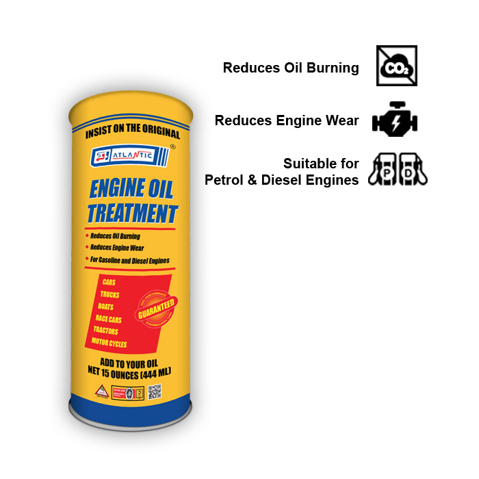 Atlantic Engine Oil Treatment 444ml