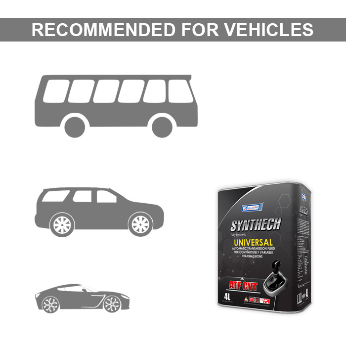 Synthech Universal ATF CVT 4 Litres – Atlantic Oil Store